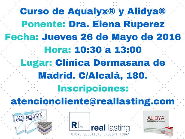 Nuevo Curso de Formación en Aqualyx® y Alidya®