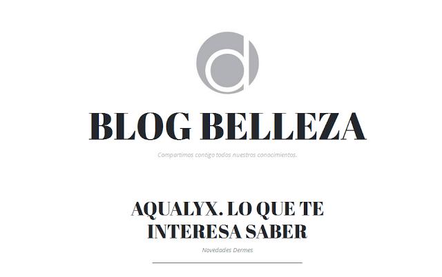 Aqualyx® protagonista en numerosos Blogs de salud y belleza