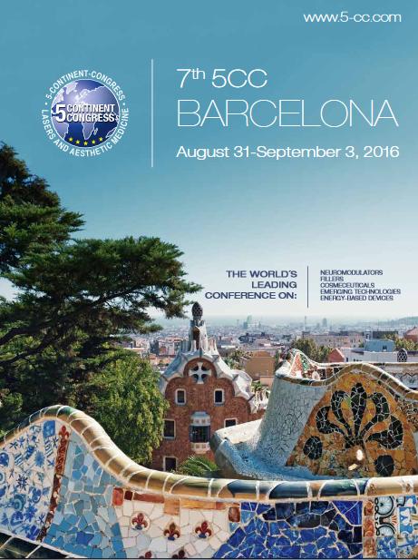 Septima edición del Congreso de los 5 Continentes de Tecnología láser y medicina estética