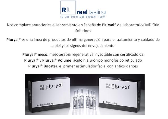 Pluryal: Nuestra línea de productos de medicina estética más reciente