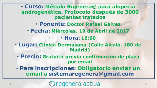 Curso de Método Rígenera en Madrid el 19 de Abril