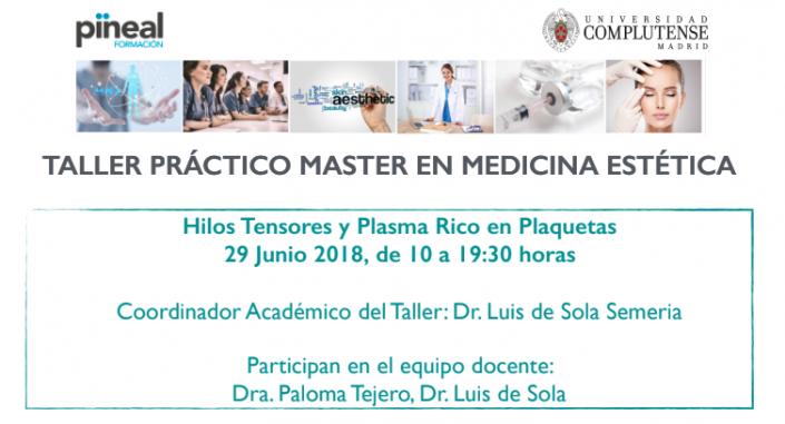 Semana de colaboraciones con los Masters de Medicina Estética