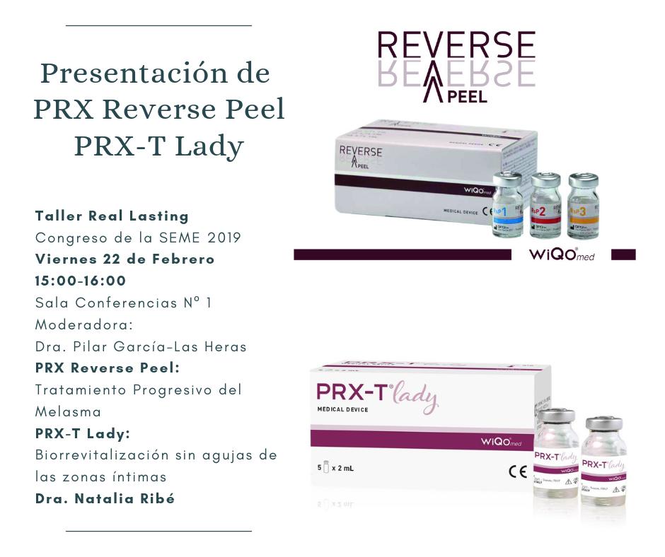PRX Reverse Peel, la revolución para el tratamiento del Melasma